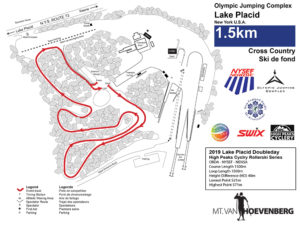 Rollerski Course Map